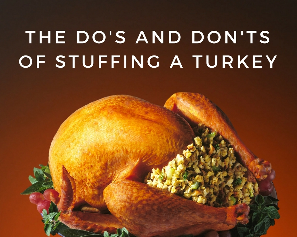 The Do S And Don Ts Of Stuffing A Turkey Just A Pinch