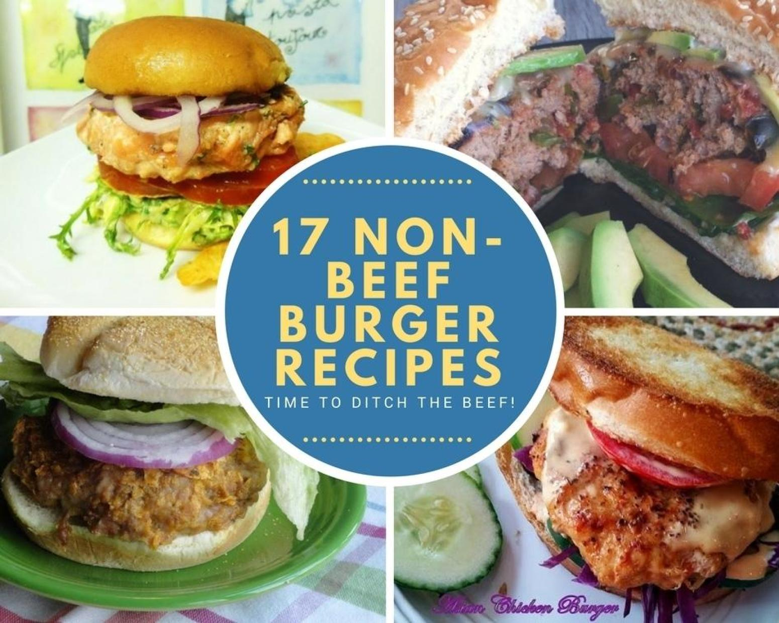 17 Non Beef Burger Recipes Just A Pinch