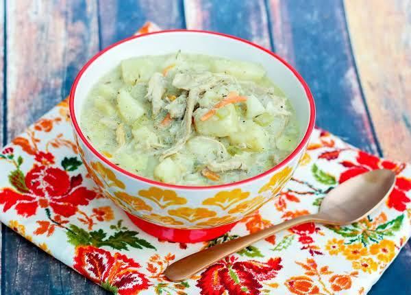 Creamy Turkey Soup, Leftover Special