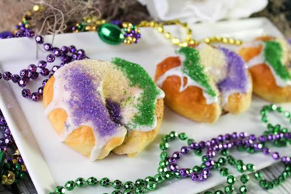 Miniature King Cakes