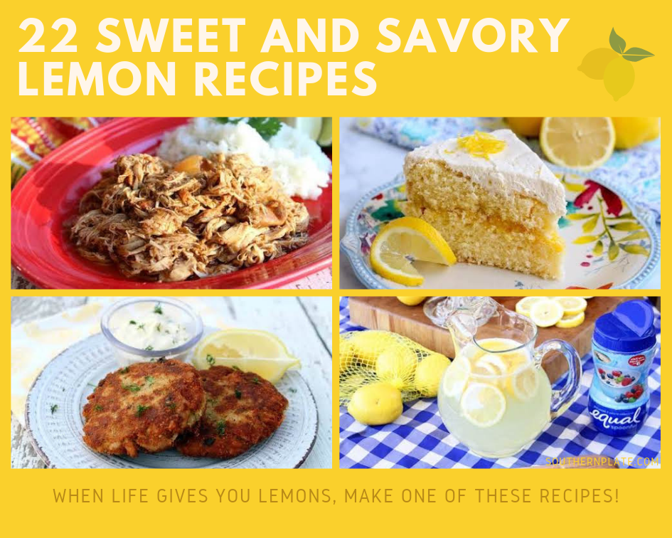 22 Sweet and Savory Lemon Recipes