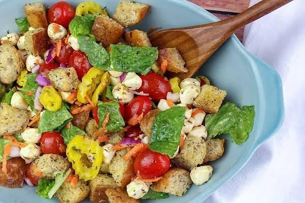 Family Favorite Panzanella Salad