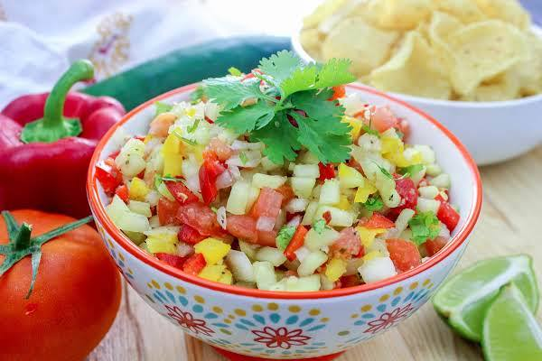 Brother Ron's Fresh Marinated Summer Salsa