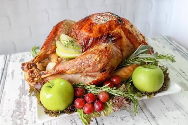 Apple and Herb Infused Roast Turkey