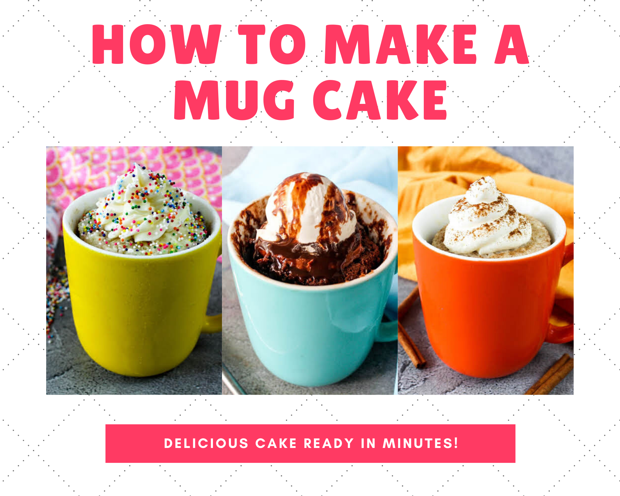 How To Make A Mug Cake Just A Pinch