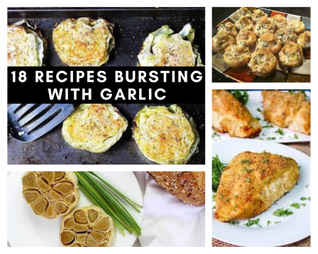 recipes with lots of garlic