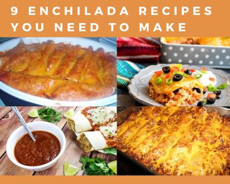 Chicken enchiladas, enchilada casserole, beef casserole