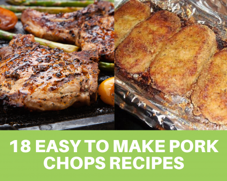 Parmesan baked pork chops and grilled pork chops
