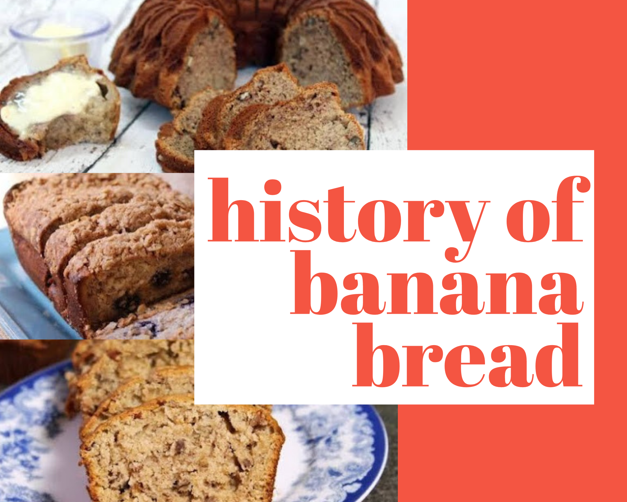 Homemade banana bread recipes