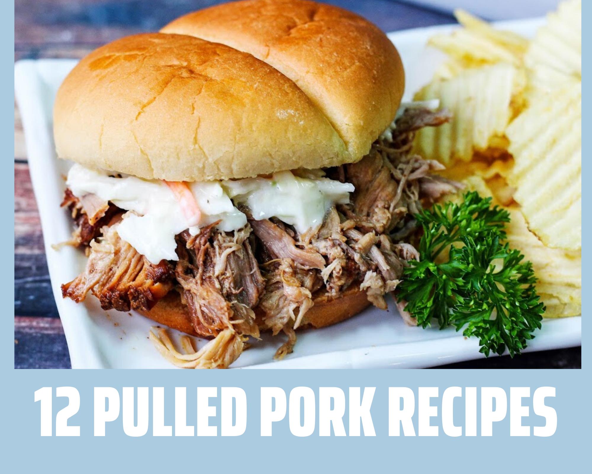 Pulled pork sandwich recipes