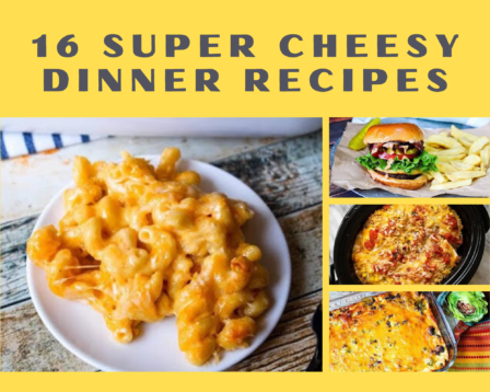 16 Super Cheesy Dinner Recipes