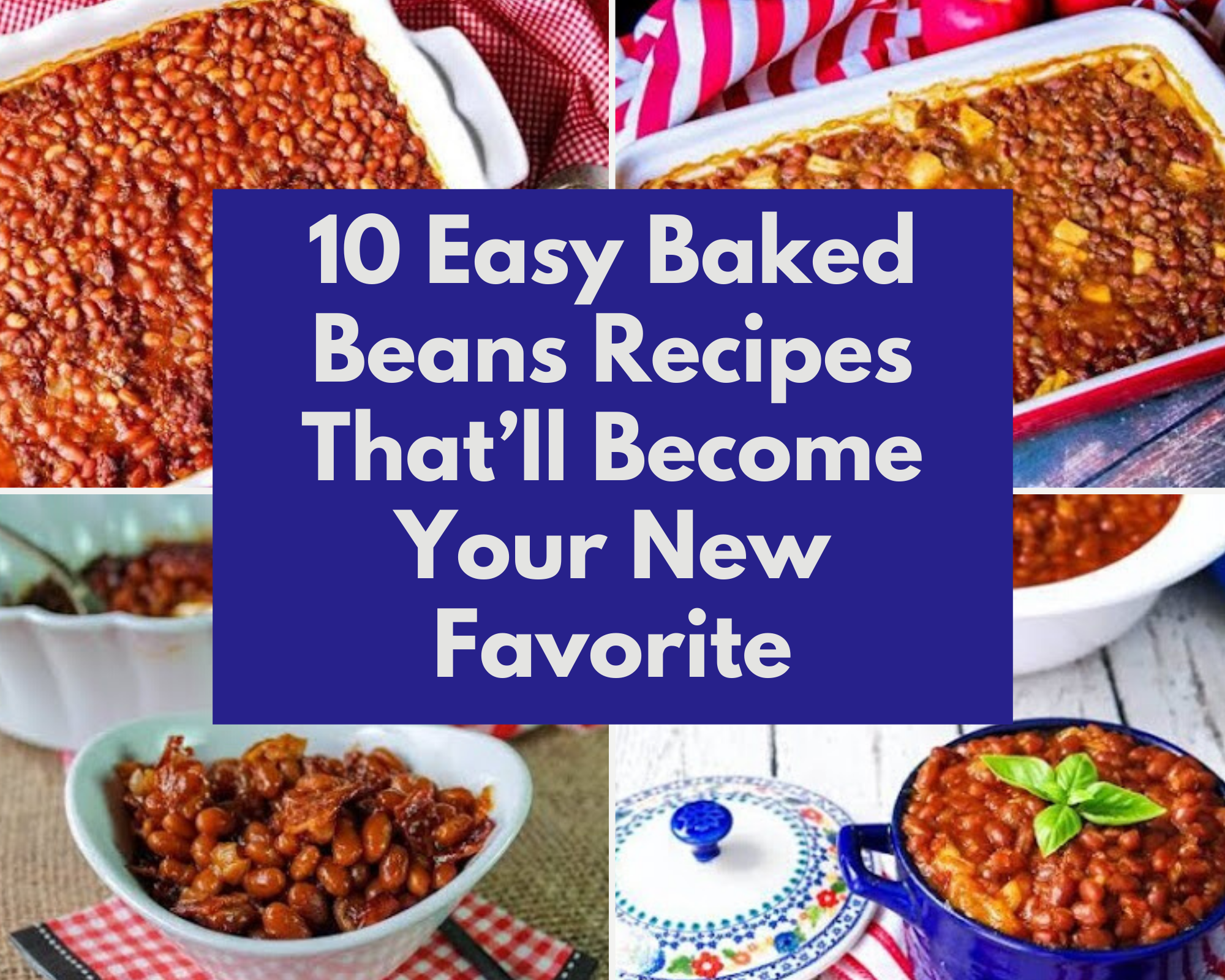 Easy baked bean recipes