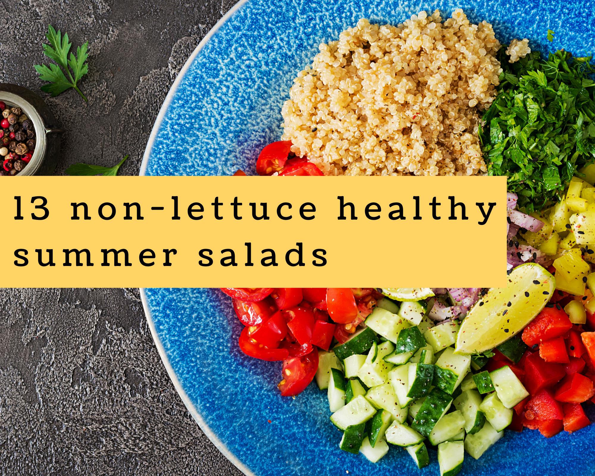 Quinoa salad recipe and other summer salads
