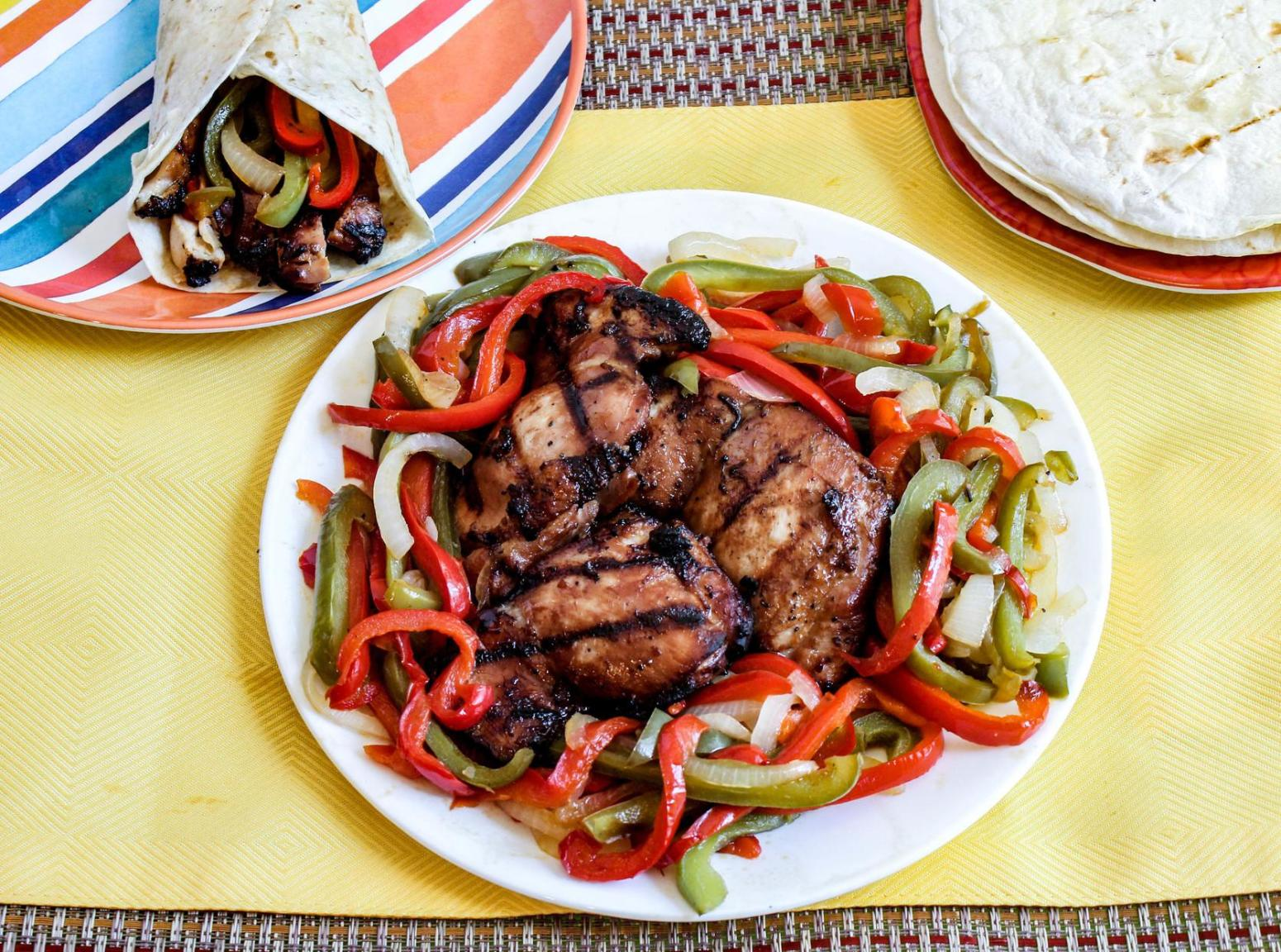 Sweet and Sour Grilled Teriyaki Chicken