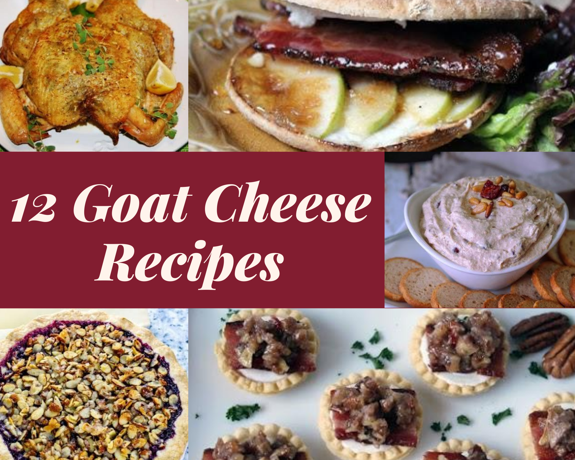 Easy goat cheese recipes