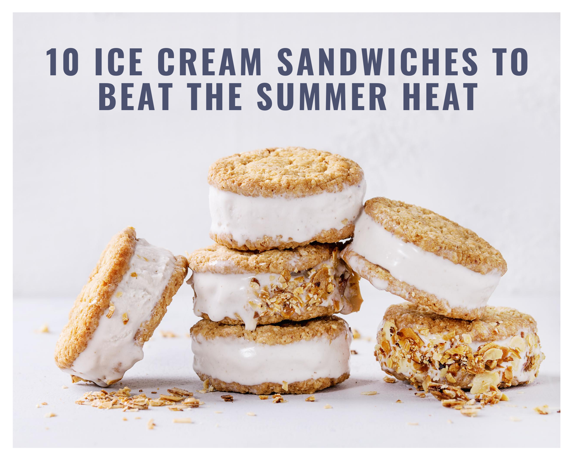 oatmeal ice cream sandwiches