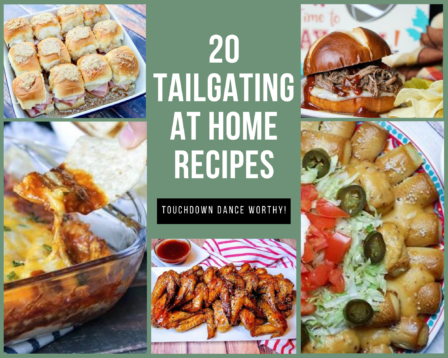 20 Tailgating at Home Recipes