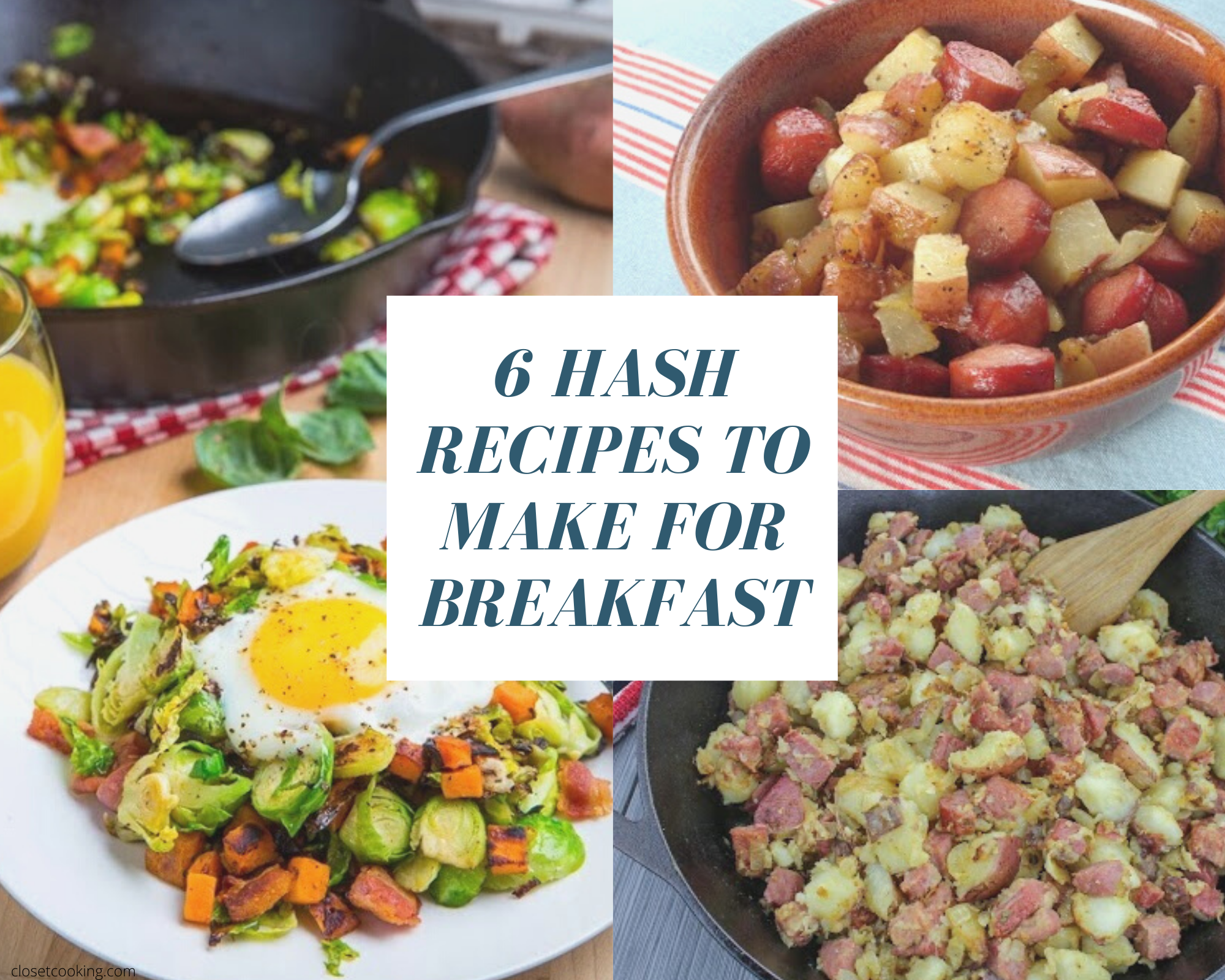 breakfast hash dishes