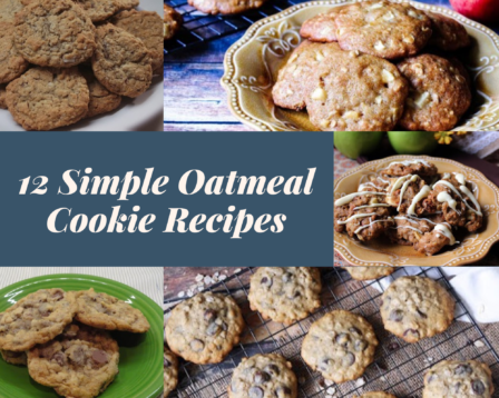 12 Simple Oatmeal Cookie Recipes