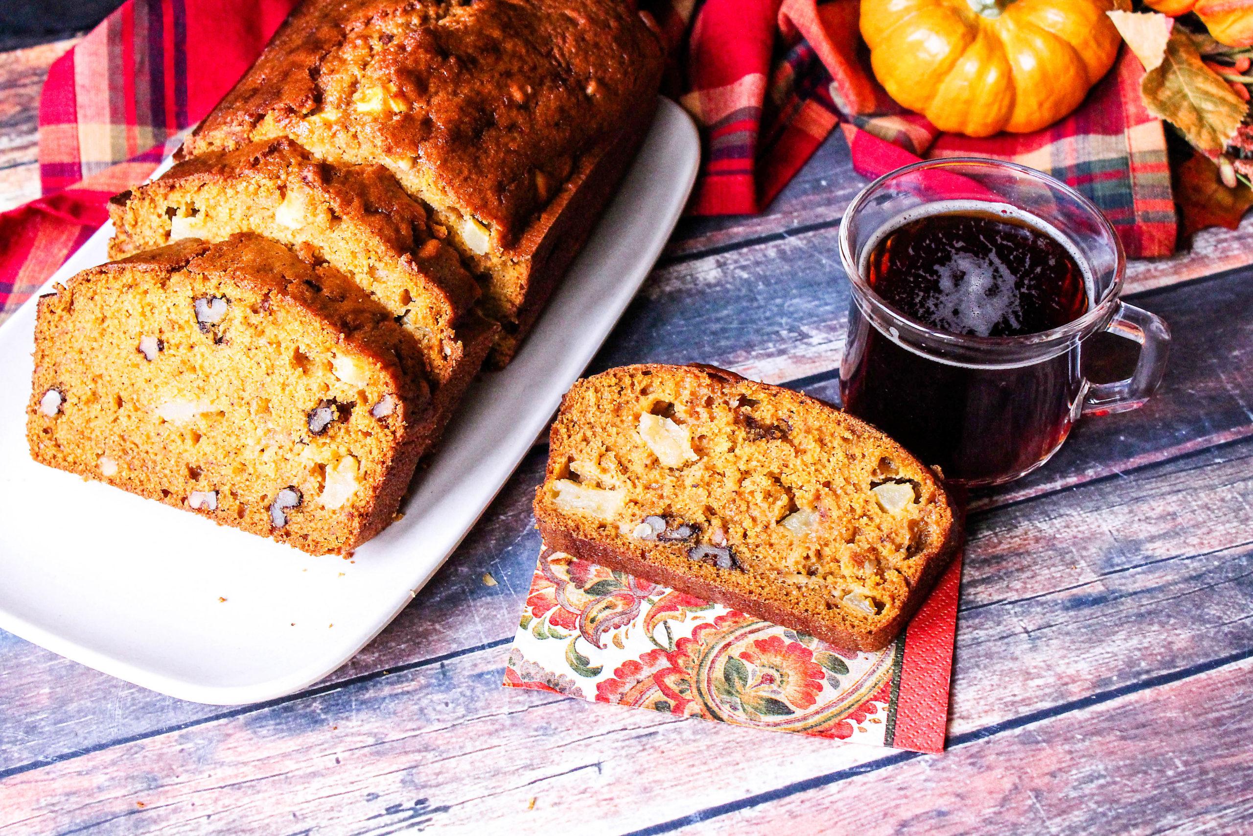 quick Apple Pumpkin Bread