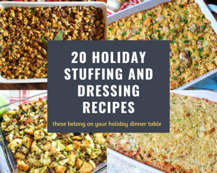 20 Holiday Stuffing and Dressing Recipes