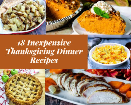 18 Inexpensive Thanksgiving Dinner Recipes