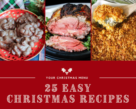 25 Easy Christmas Recipes