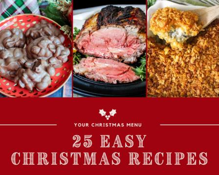 25 Easy Christmas Recipes