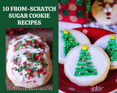 10 From-Scratch Sugar Cookie Recipes