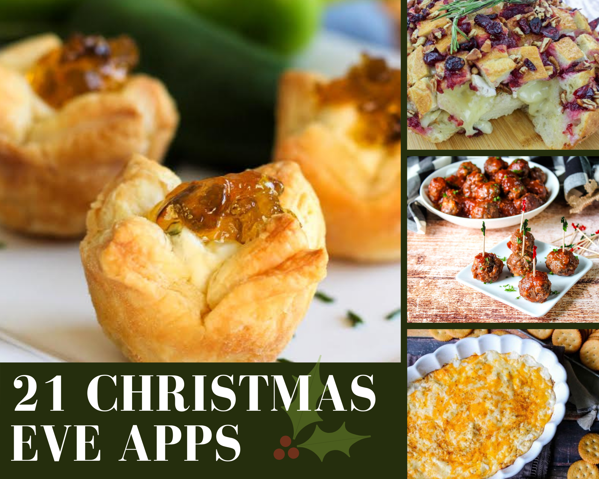 Christmas eve appetizers
