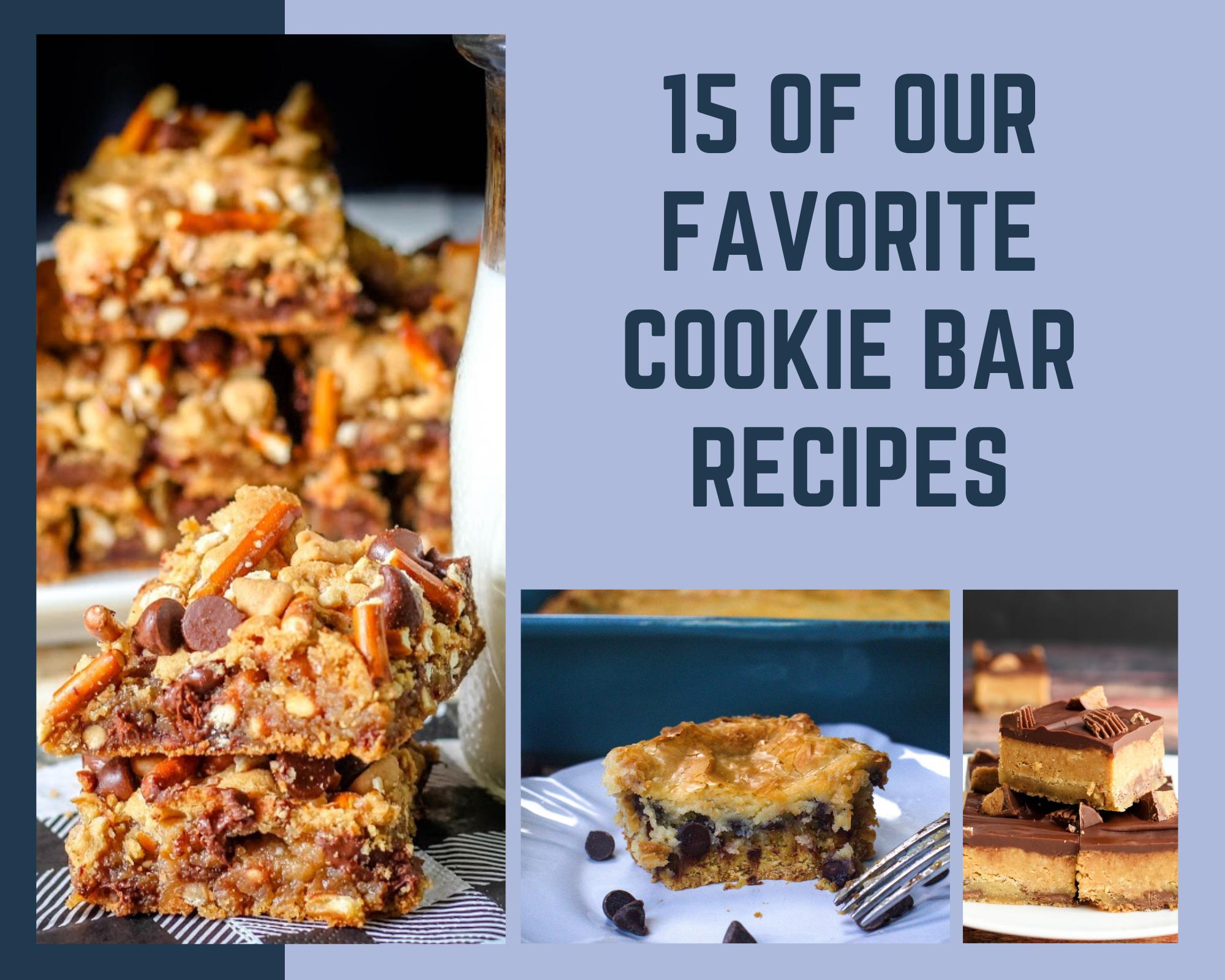 Cookie bar recipes