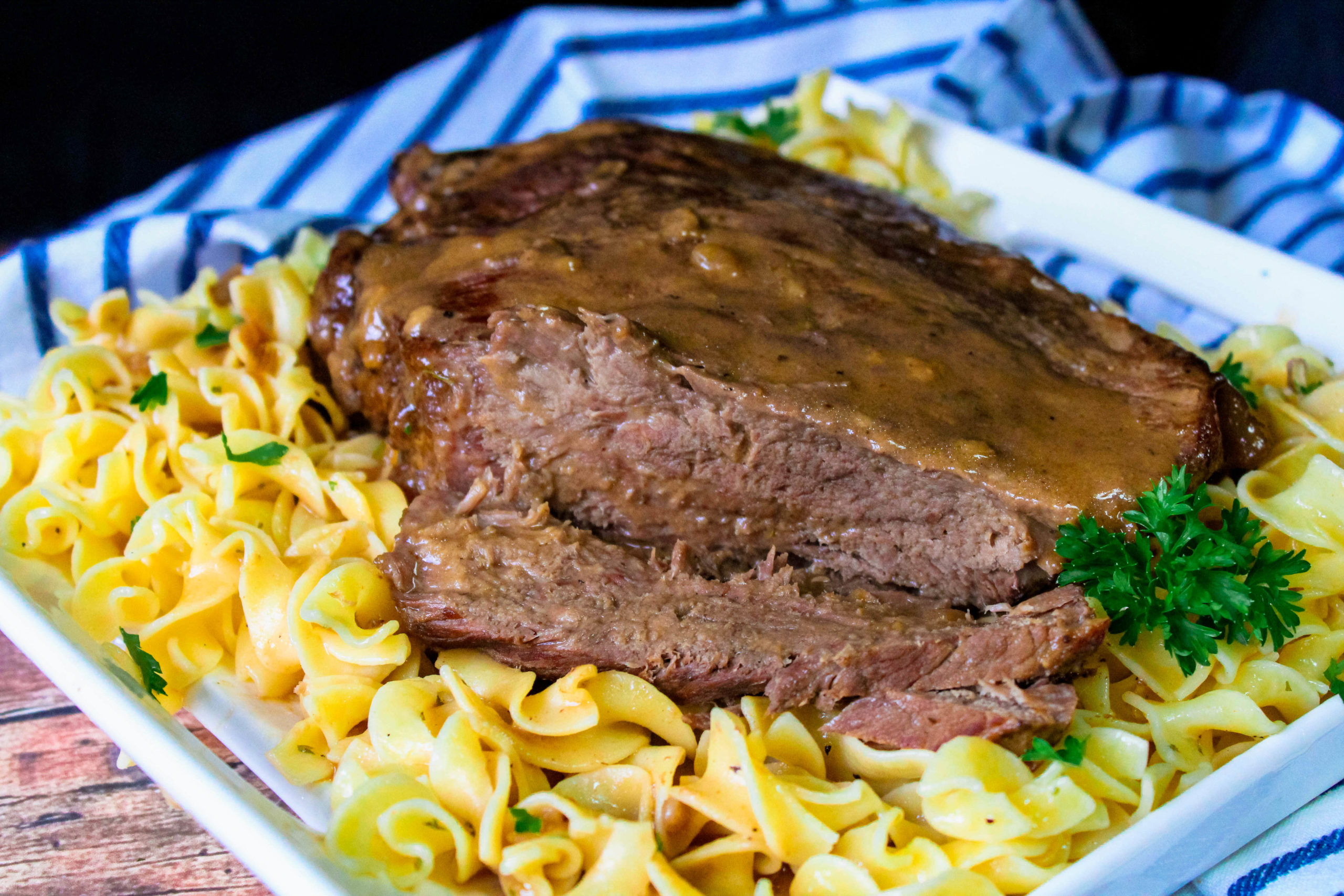 easy Crock Pot Roast With Gravy