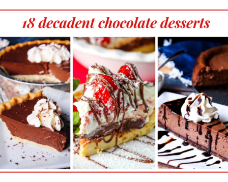18 Decadent Chocolate Desserts