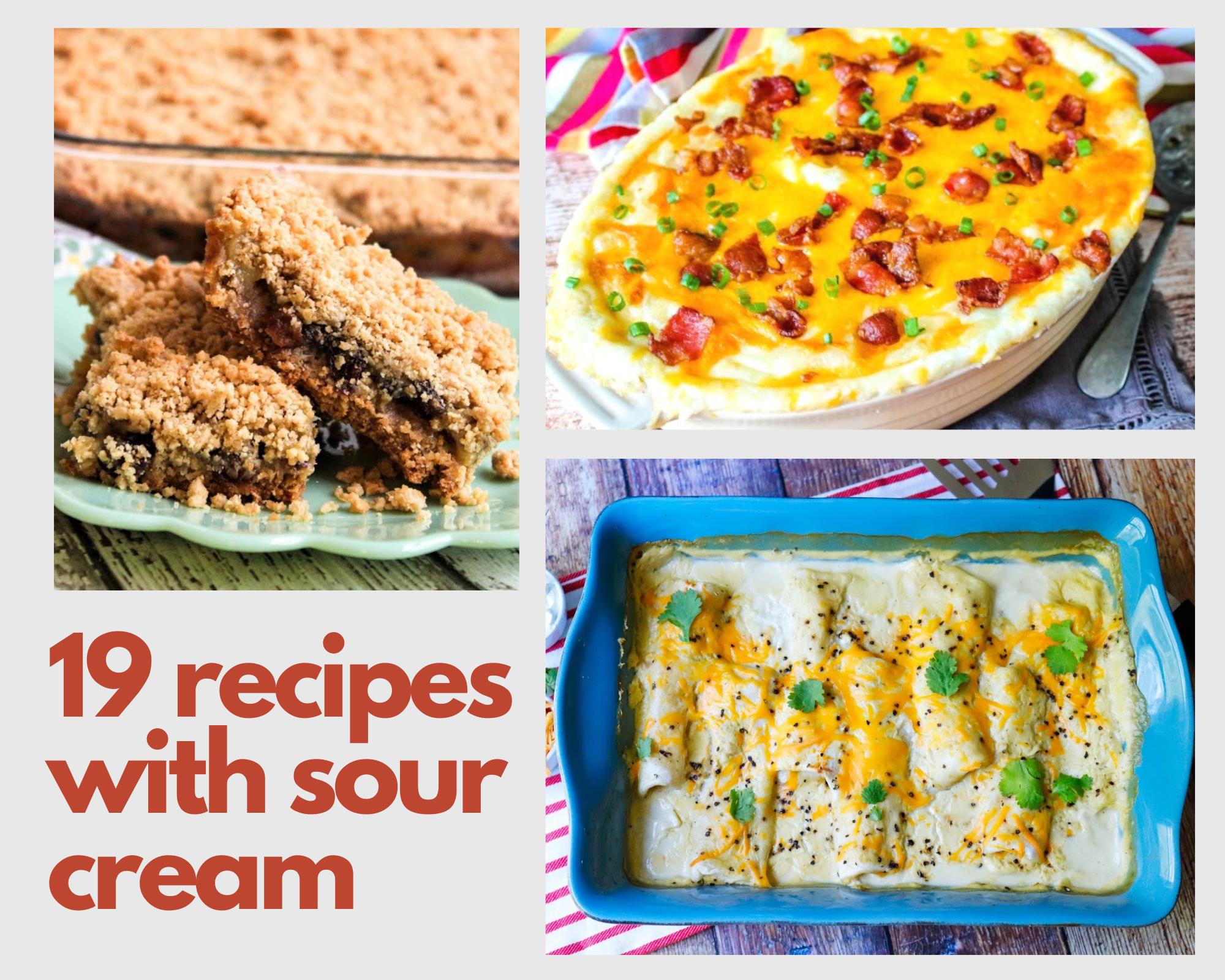 recipes with sour cream
