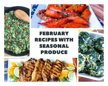 February Recipes With Seasonal Produce