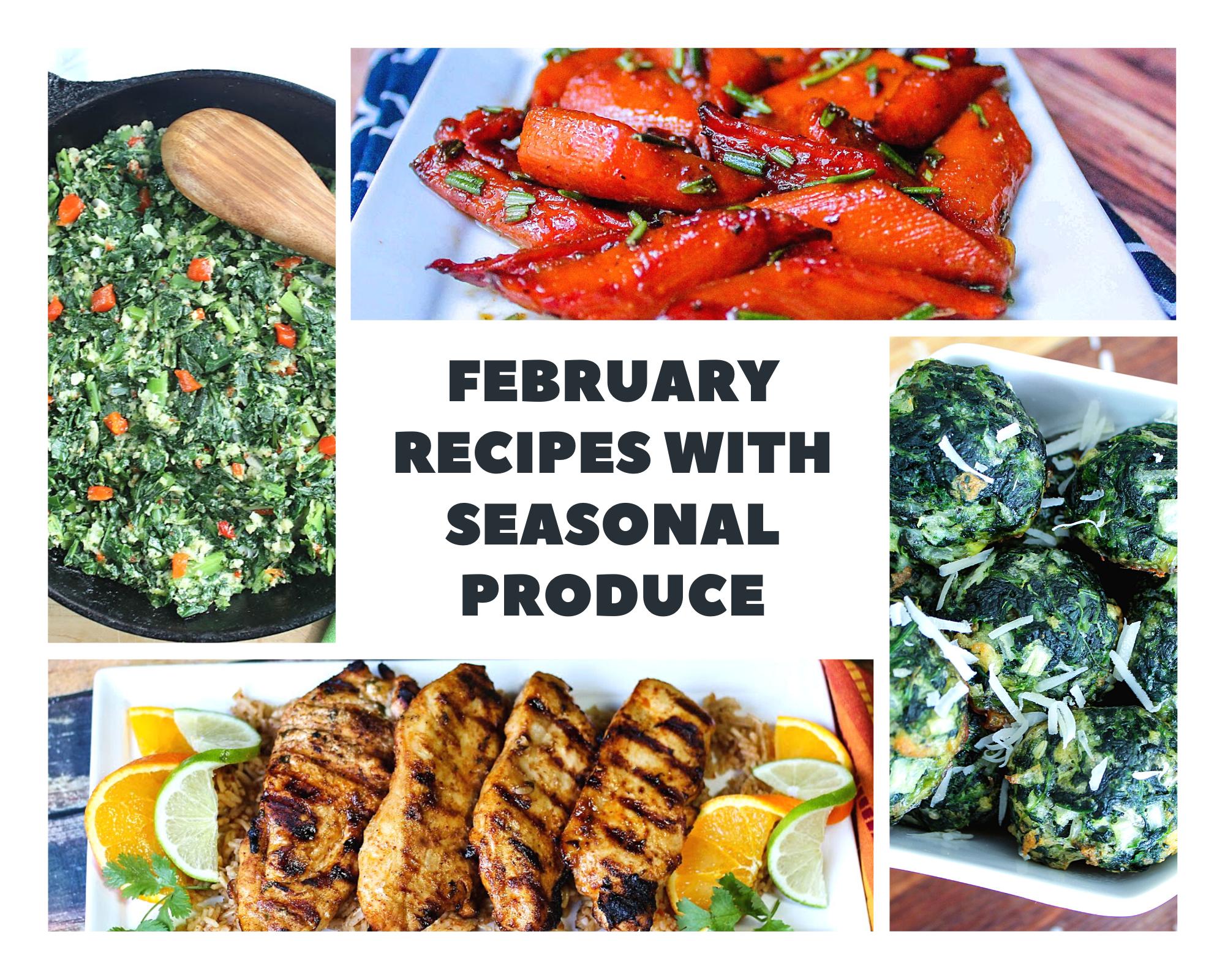 seasonal february produce