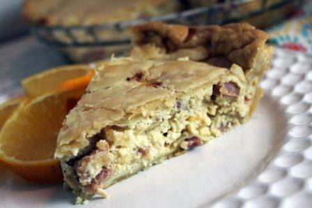 slice of Easter Brunch Pie