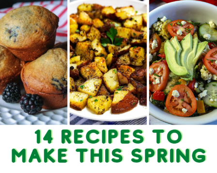 recipes to make with spring ingredients