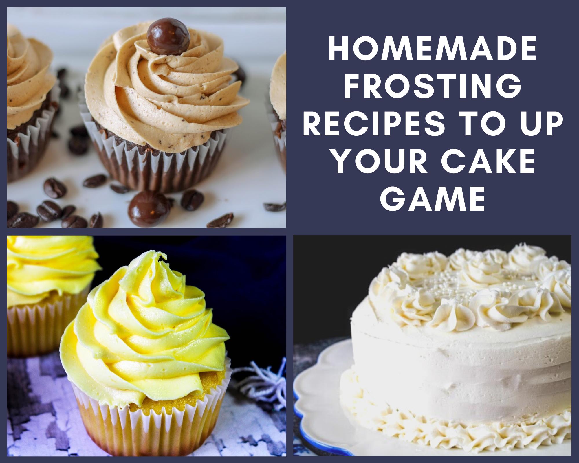 homemade frosting recipes