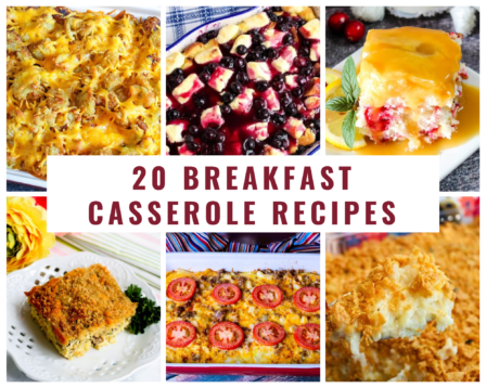 20 Breakfast Casserole Recipes