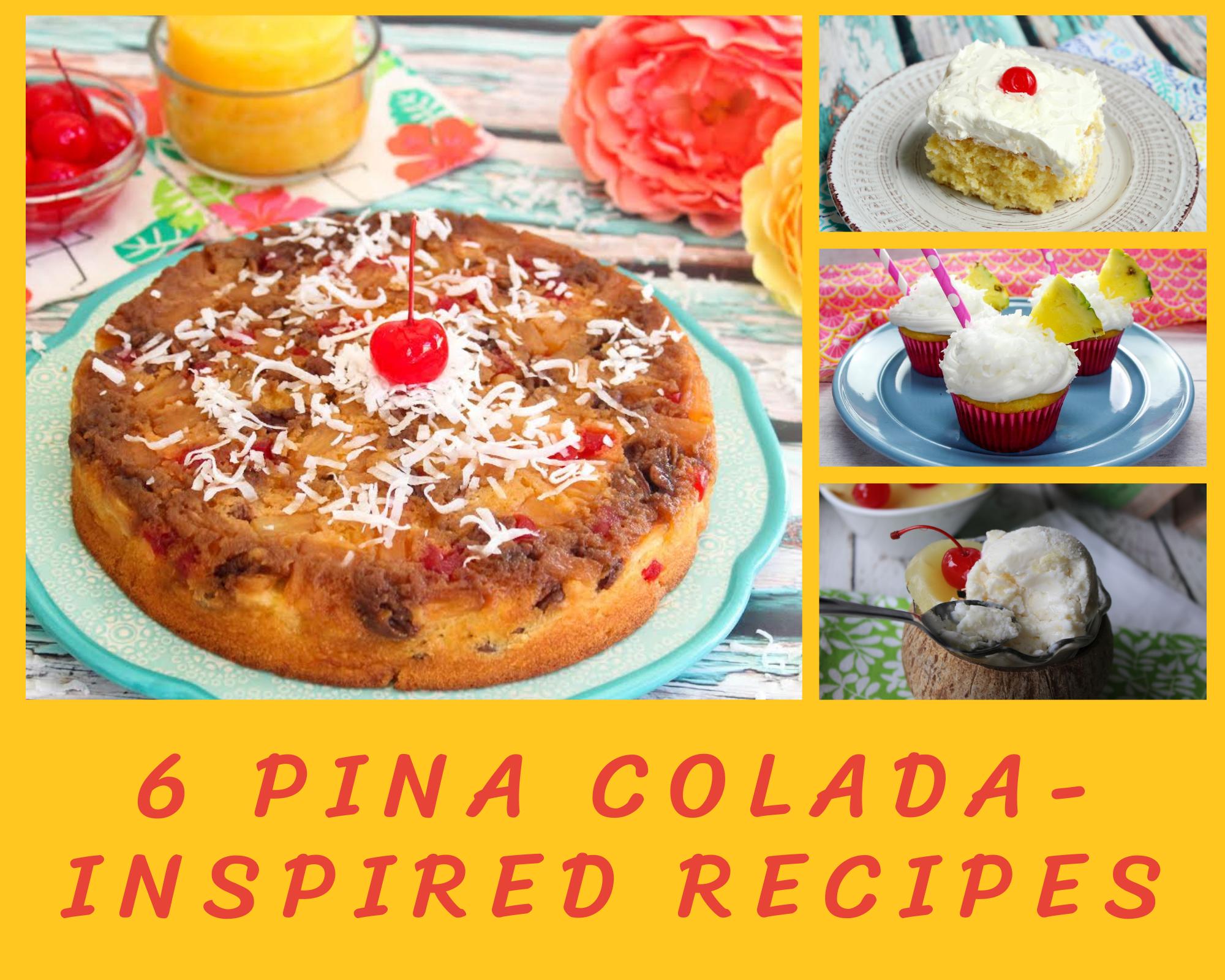 Pina colada recipes