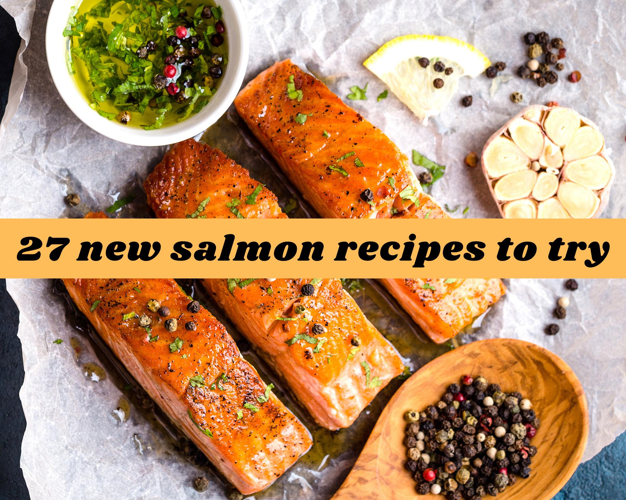 new salmon recipes