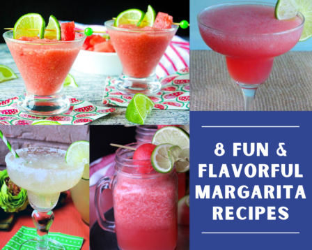 8 Fun & Flavorful Margarita Recipes