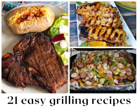 21 Easy Grilling Recipes