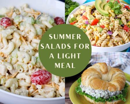 Summer Salads for a Light Meal