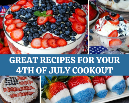 Great Recipes for Your 4th of July Cookout