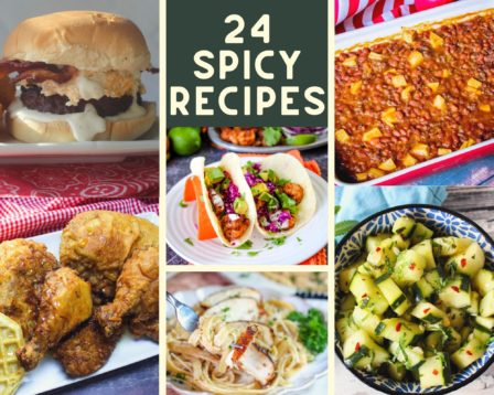 24 Spicy Recipes