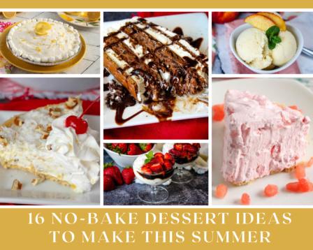 16 No-Bake Dessert Ideas To Make This Summer