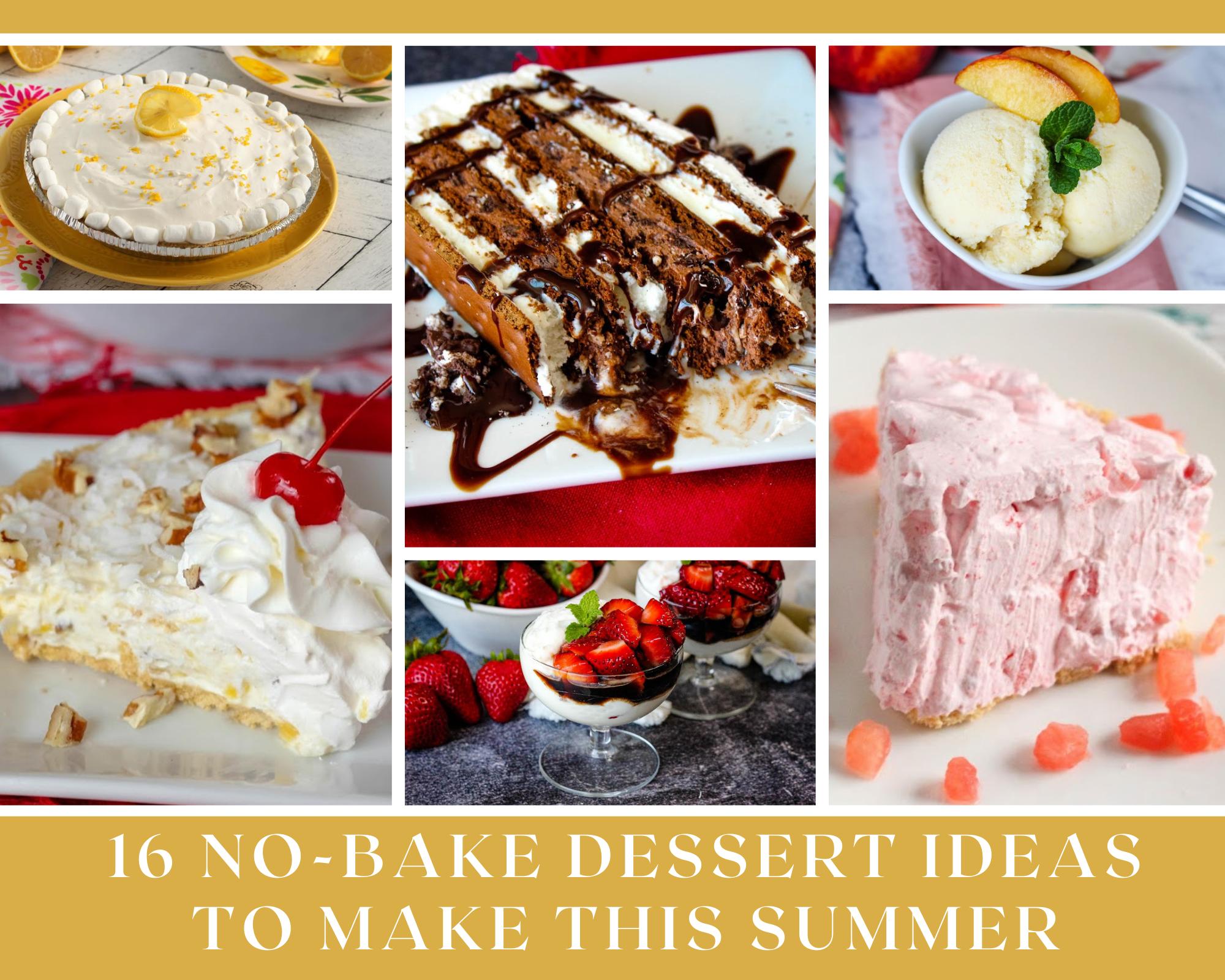 no-bake summer dessert recipes
