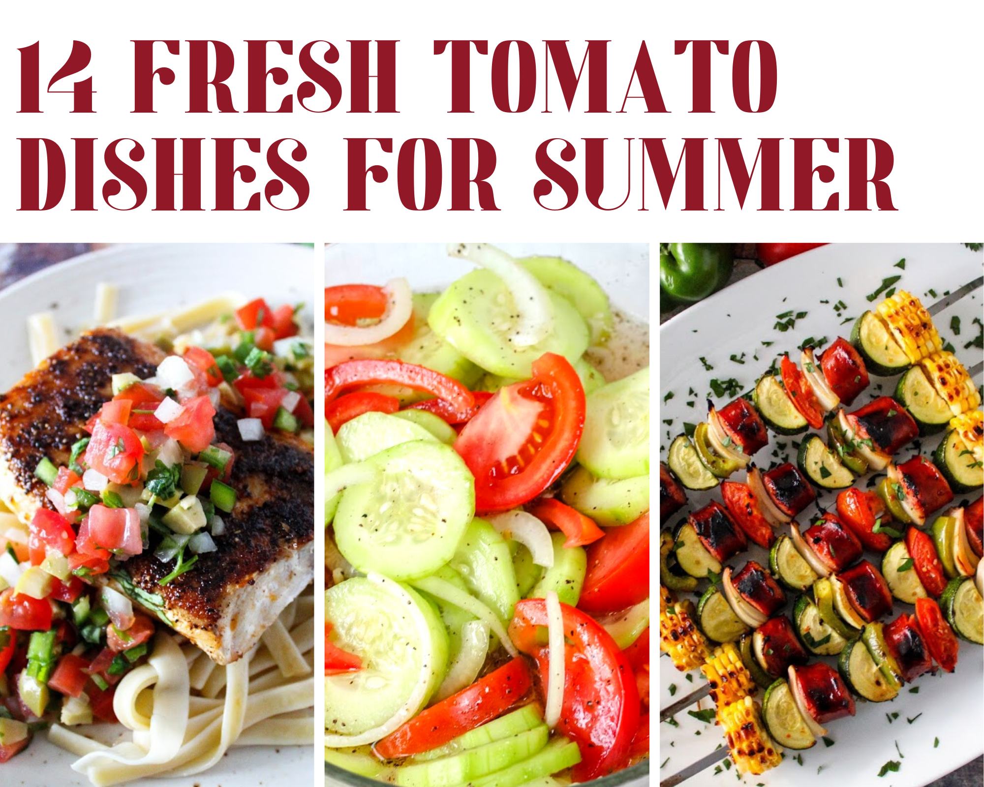fresh tomato recipes for summer